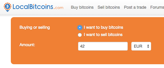 LocalBitcoins.com: Fastest and easiest way to buy and sell ...